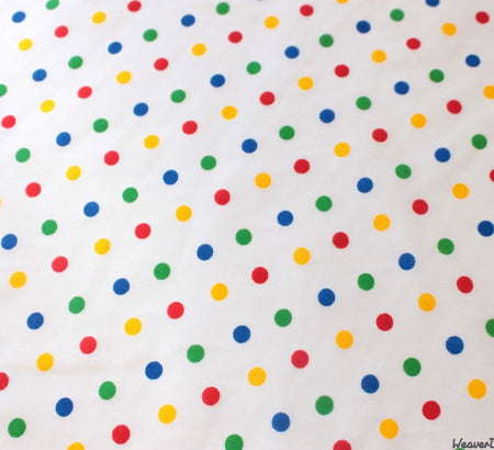 WeaverDee - Poly Cotton Fabric - Rainbow Spot - WeaverDee.com Sewing & Crafts - 1