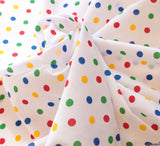 WeaverDee - Poly Cotton Fabric - Rainbow Spot - WeaverDee.com Sewing & Crafts - 3