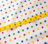 WeaverDee - Poly Cotton Fabric - Rainbow Spot - WeaverDee.com Sewing & Crafts - 4