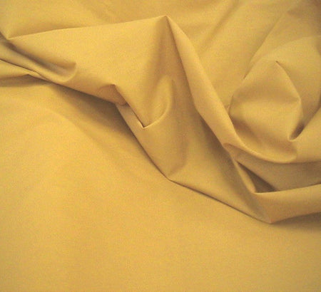 WeaverDee - Poly Cotton Fabric / Gold - WeaverDee.com Sewing & Crafts