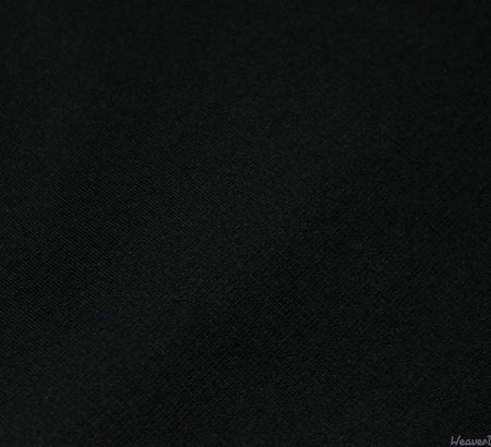 WeaverDee - Ponte Roma Jersey Fabric / Black - WeaverDee.com Sewing & Crafts - 1