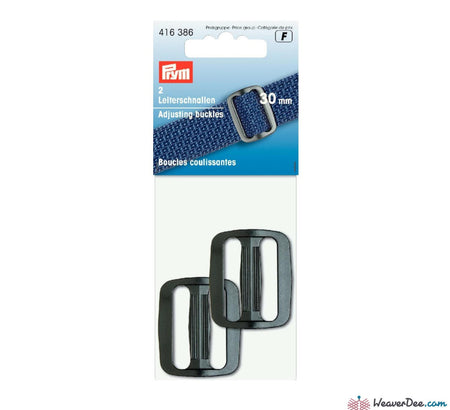 Prym - Adjusting Buckle Black - WeaverDee.com Sewing & Crafts - 1