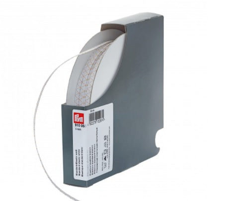 PRYM Standard Elastic 5mm White by the Metre