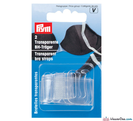 Prym - Bra Straps [Transparent] - WeaverDee.com Sewing & Crafts