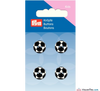 Prym - Football Buttons - Black & White - WeaverDee.com Sewing & Crafts - 2