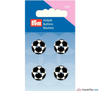Prym - Football Buttons - Black & White - WeaverDee.com Sewing & Crafts - 3