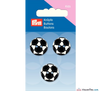 Prym - Football Buttons - Black & White - WeaverDee.com Sewing & Crafts - 4