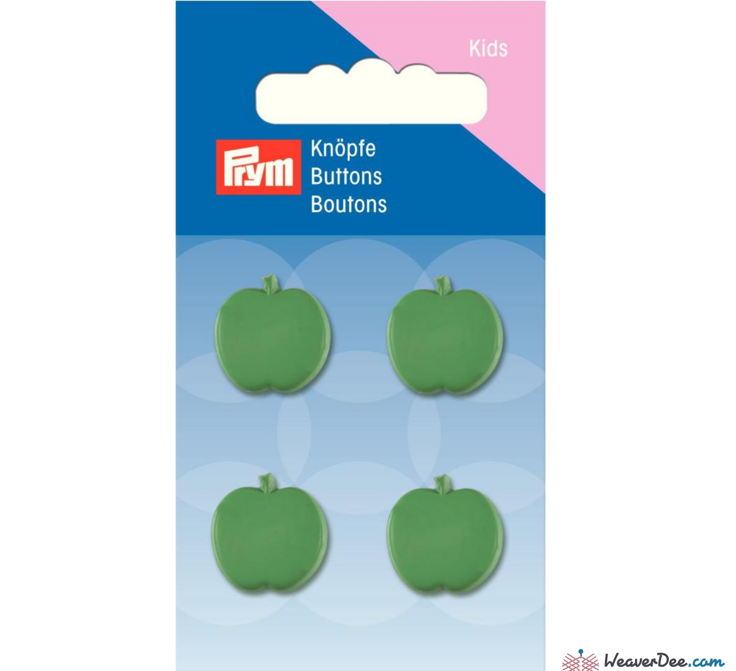 Prym - Apple buttons 16 mm - WeaverDee.com Sewing & Crafts - 1