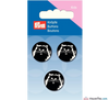 Prym - Cat buttons white - black - WeaverDee.com Sewing & Crafts - 2