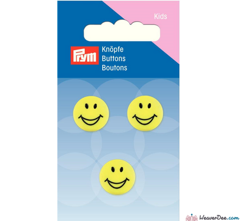 Prym - Smiley Face Buttons - WeaverDee.com Sewing & Crafts - 1
