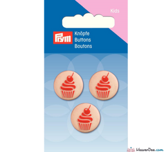 Prym - Cupcake Buttons - WeaverDee.com Sewing & Crafts - 1