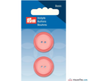 Prym - Tyre Button - Salmon Pink - WeaverDee.com Sewing & Crafts - 4