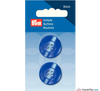Prym - Four Hole Button - Pearlescent Blue - WeaverDee.com Sewing & Crafts - 3