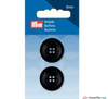 Prym - Four Hole Button - Deep Black - WeaverDee.com Sewing & Crafts - 3