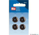 Prym - Menswear Buttons - Dark Grey - WeaverDee.com Sewing & Crafts - 1