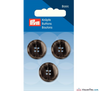 Prym - Menswear Buttons - Dark Grey - WeaverDee.com Sewing & Crafts - 3