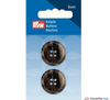 Prym - Menswear Buttons - Dark Grey - WeaverDee.com Sewing & Crafts - 4