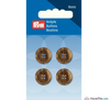 Prym - Menswear Buttons - Beige Brown - WeaverDee.com Sewing & Crafts - 1