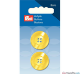 Prym - Four Hole Button - Yellow - WeaverDee.com Sewing & Crafts - 3