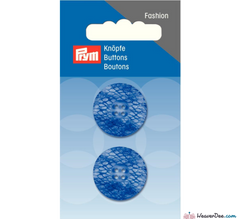 Prym - Button Snake Print Royal Blue - WeaverDee.com Sewing & Crafts - 1