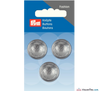 Prym - Hemisphere Silver Button - WeaverDee.com Sewing & Crafts - 1