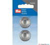 Prym - Hemisphere Silver Button - WeaverDee.com Sewing & Crafts - 2