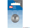 Prym - Hemisphere Silver Button - WeaverDee.com Sewing & Crafts - 3