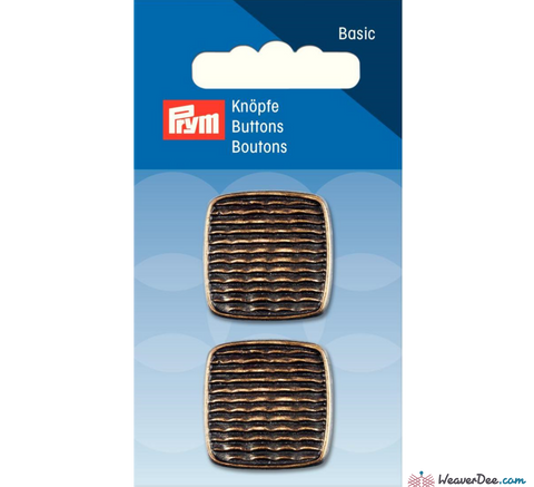 Prym - Antique Brass button - WeaverDee.com Sewing & Crafts - 1