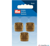 Prym - Gold Finish Button - WeaverDee.com Sewing & Crafts - 1