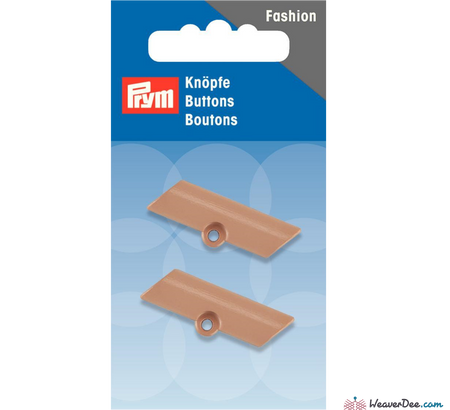Prym - Toggle Button with Eyelet 33 mm - WeaverDee.com Sewing & Crafts - 1