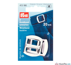 Prym - Waistband Buckles Steel 20mm (pk of 2) - WeaverDee.com Sewing & Crafts