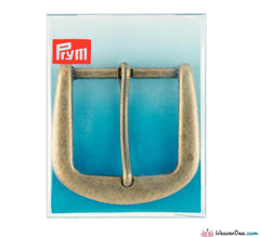 Prym - Belt Buckle 40mm / Antique Brass - WeaverDee.com Sewing & Crafts