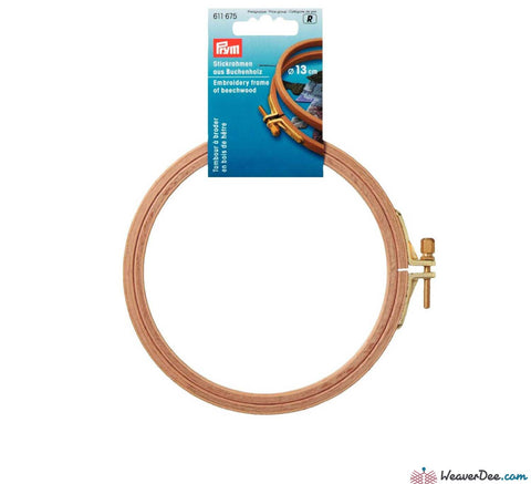 Prym - Wooden Embroidery Hoops - WeaverDee.com Sewing & Crafts - 3