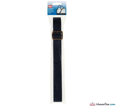 Prym - Lilly Bag Strap Handle - Leather Look / Navy - WeaverDee.com Sewing & Crafts