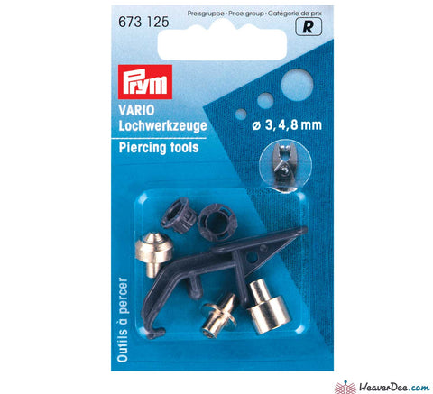 Prym - Extra Piercing Tools for Vario Pliers - WeaverDee.com Sewing & Crafts - 1