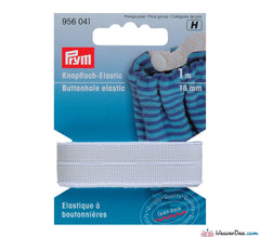 Prym - Buttonhole Elastic Smooth [White] - WeaverDee.com Sewing & Crafts