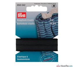 Prym - Buttonhole Elastic Smooth [Black] - WeaverDee.com Sewing & Crafts