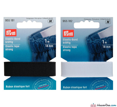 Prym - Elastic Tape [Strong] - WeaverDee.com Sewing & Crafts