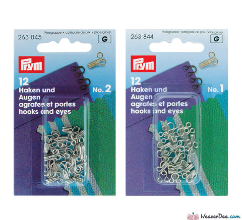Prym - Hook & Eyes - WeaverDee.com Sewing & Crafts - 1