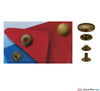 Prym - Press Studs (No-Sew) - Antique Brass 15mm - WeaverDee.com Sewing & Crafts - 2