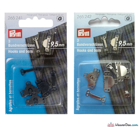 Prym - Trouser Hook & Bars - WeaverDee.com Sewing & Crafts - 1