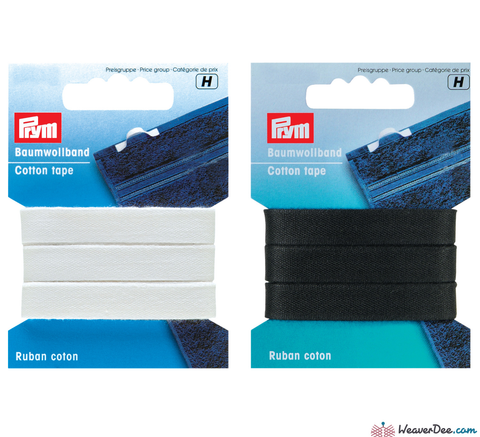 Prym - Cotton Tape - WeaverDee.com Sewing & Crafts