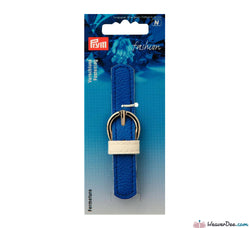 Prym - Leather Look Strap & Buckle Clasp / Blue - WeaverDee.com Sewing & Crafts