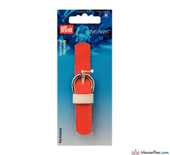 Prym - Leather Look Strap & Buckle Clasp / Orange - WeaverDee.com Sewing & Crafts