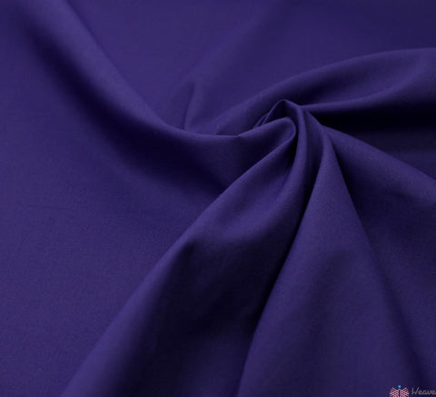 WeaverDee - Poly Cotton Fabric / Purple - WeaverDee.com Sewing & Crafts - 1