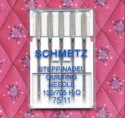 SCHMETZ  Quilting Machine Needles | Pack of 5
