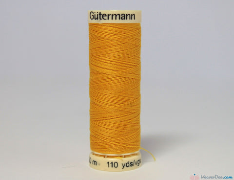Gütermann - Sew-All Polyester Sewing Thread [106 Dandelion Yellow] - WeaverDee.com Sewing & Crafts - 1