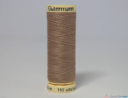 Gütermann - Sew-All Polyester Sewing Thread [215 Sandy Brown] - WeaverDee.com Sewing & Crafts - 1