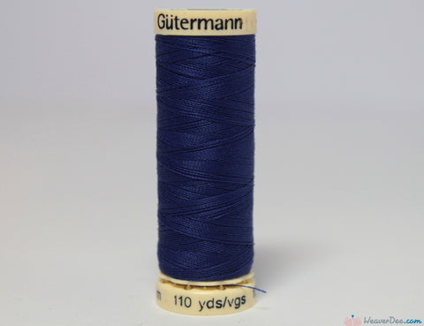 Gütermann - Sew-All Polyester Sewing Thread [218 Indigo] - WeaverDee.com Sewing & Crafts - 1
