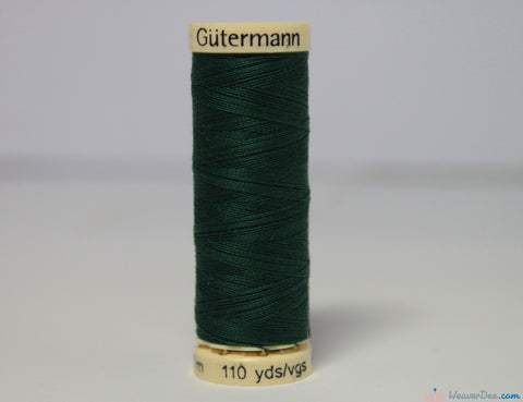 Gütermann - Sew-All Polyester Sewing Thread [340 Dark Green] - WeaverDee.com Sewing & Crafts - 1